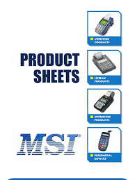 msi product sheets 11 01 2007 point of sale emv