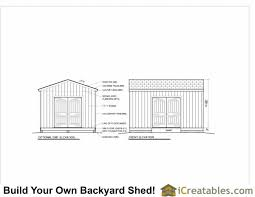 Free Barn Plans 12x16 Shed Plans Gable Shed Storage Shed Plans Icreatables Com