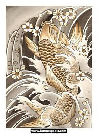 tattoos fish koi design 116 nice fish koi tattoos images with