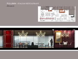 Italian Restaurant Floor Plan Pullman Yangon Italian Restaurant Atelier Donatien Carratier