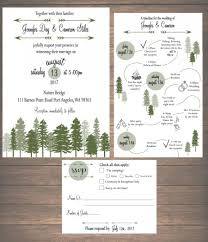 printable wedding invitation kits printable mountain weekend wedding invitation kit invitation