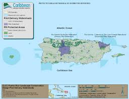 Puerto Rico On A Map by Coordinator U0027s Corner Caribbean Lcc
