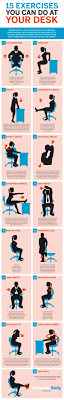 exercises to do at your desk deskercise 15 simple exercises you can do at your desk diy genius