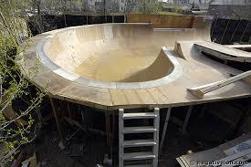 Backyard Skate Bowl Negativeion Build