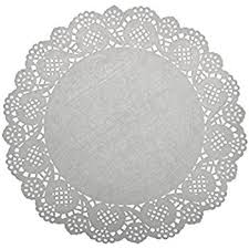 white lace lovmutd gold foil metallic paper doilies royal