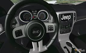 jeep grand cherokee dashboard 2013 jeep grand cherokee srt 8 for gta san andreas