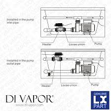 Whirlpool Bathtub Installation Lx H10 Rs1 Water Heater 1000w 1kw Tub Spa Whirlpool