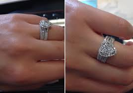 engagement ring and wedding band debebians jewelry how to choose the right wedding band