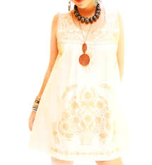 old gold mexican dress embroidered m beautiful romantic ethnic