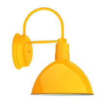 Yellow Wall Sconce Wheeler Wilcox Light Wall Sconce Barn Light Electric