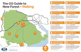 Southampton England Map by 10 New Forest Walking Routes Go Outdoors Blog