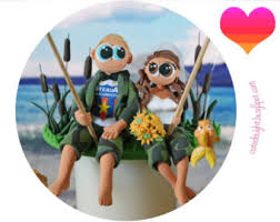 fisherman cake topper delight handmade cake toppers by cutedelight