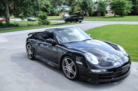 porsche 911 black fs 2005 porsche 911 carrera s cabriolet techart package chrono
