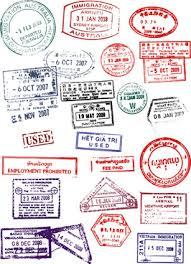 passport stamps vectors free free vector download 819 free vector