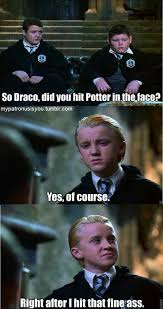 Draco Memes - fine what harry potter meme by onewhogreeteddeath funny comics