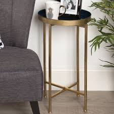 Navy Side Table Navy Blue Side Table Wayfair
