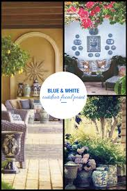 ciao newport beach blue and white an outdoor focal point