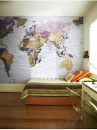 bedroom wall 15 boys bedrooms with map walls rilane