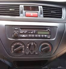 headunit installation in 2002 2006 lancer