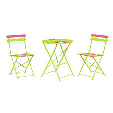 Metal Folding Bistro Chairs Furniture Cool Folding Bistro Table Living Express Outdoor Set