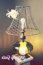 Chicken Home Decor by Chicken Wire Chandelier Diy Chicken Wire Pendant Light Great