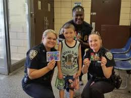 Nypd Business Cards Boy Vows To Deliver Superhero Cards To Every Nypd Cop Abc News