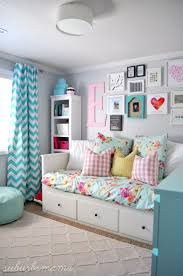 intereating teenage bedroom decorating ideas and great wall design
