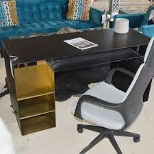 Black Desk Office Living Room Furniture Atlanta Furniture Store Ga Designer