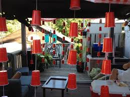 red solo cup streamers fora redneck party i could definitely see