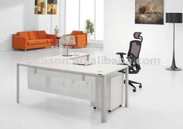 Modern Glass Top Desk Amazing Modern Glass Top Office Table Design Buy Desk 66 Inch