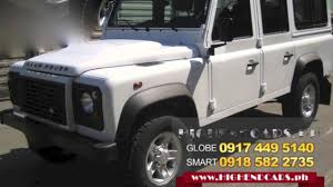 land rover 110 for sale 2013 land rover defender 110 suv diesel philippines www