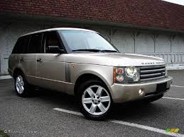 metallic land rover 2003 white gold metallic land rover range rover hse 11578951