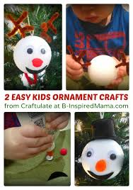 reindeer and snowman ornaments for to make b