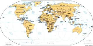 7 Continents Map How Many Countries In The World Of 7 Continents And 5 Oceans New