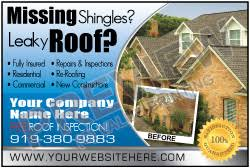 roofing business roofing invoices postcards business cards