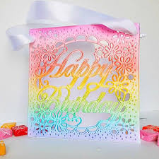 crafter s companion create a card 2 pack metal dies birthday