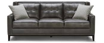 Gray Leather Sofa Boston Leather Sofa Horizon Home Furniture