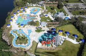 Map Of Broward County Florida by Paradise Cove Water Park