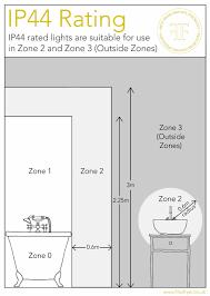 Bathroom Lighting Zones Beautiful Bathroom Lighting Zone 2 Dkbzaweb