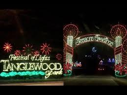 tanglewood christmas lights nc tanglewood festival of lights festival navideño youtube