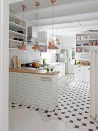 dazzling white tile kitchen floor best 25 ideas on pinterest