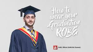 graduation robe how to wear your graduation robe