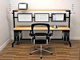 Office Desk With Wheels Office Desk Office Desk Wheels Alluring Computer On With News