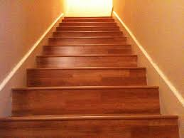 finished stairs done in shaw hardwood laminate yelp