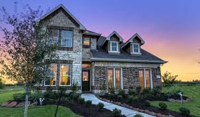 Inland Homes Devonshire Floor Plan by Kodiak Crossing New Homes In Crosby Tx