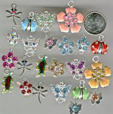unique charm unique charms embellishments filigree stings rhinestone