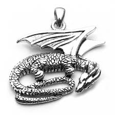 silver dragon pendant necklace images Dragon pendant sterling silver dragon jewellery jpg