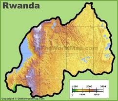 Rwanda World Map by Rwanda Maps Maps Of Rwanda