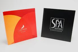 custom gift card holders spa gift cards holder branding your image with packaging