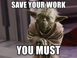 Yoda Meme Maker - save your work you must painful warnings master yoda meme
